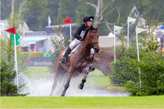 Elizabeth Power and Doonaveeragh O One, winngers of the Amlin Plus Eventers' Challenge. Image Courtesy of Craig Payne