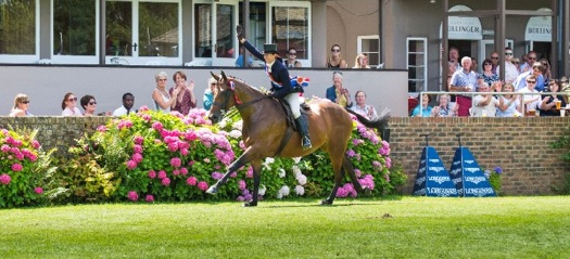 Jayne Ross and Time 2 Reflect, winners of the British Horse Society Supreme Horse championship at Hickstead. Photo Courtesy of Sian Hayden
