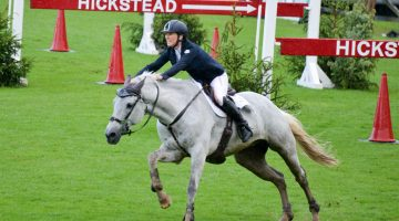 Harriet Nuttall no longer the bridesmaid at Hickstead