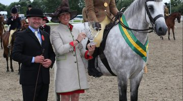 Isabella and Paddy Win TopSpec Pretty Polly Championship