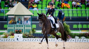 Great Britain in the hunt after dressage Grand Prix
