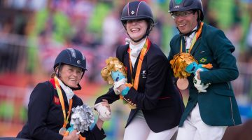Magical day for Great Britain equestrian team
