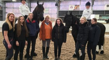 Reaseheath horse care apprentices enjoy demo day