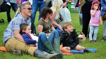 The Equerry Bolesworth International Horse Show It's Just One Big Party