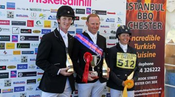 Owen goes for gold at Kelsall Hill Horse Trials
