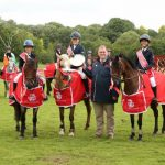 Shane Breen's daughter follows in her father's footsteps at Hickstead