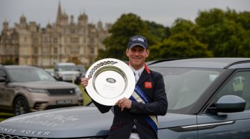Oliver Townend victorious at the Land Rover Burghley Horse Trials