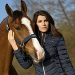 Leading French Model and Personality the New Face of Equithème Seasonal Collections