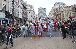 Another Successful Parade For All The Queen's Horses