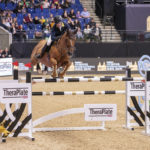 Irish Eyes Are Smiling in TheraPlateUK Liverpool International Horse Show