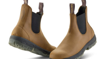 New Premium Leather Boot for Men from Grub's