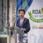 HRH Princess Anne Launches 50th Anniversary Tartan for Riding for the Disabled Association in Scotland