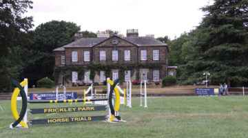 Robinson Animal Healthcare Support U18 Championships At Frickley Horse Trials