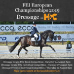 FEI European Championships 2019 on Horse & Country