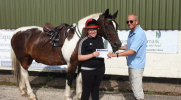 Proud Bradley Gains Grade One Horse Care Certificate