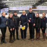 Reaseheath equine students learn from national course builder